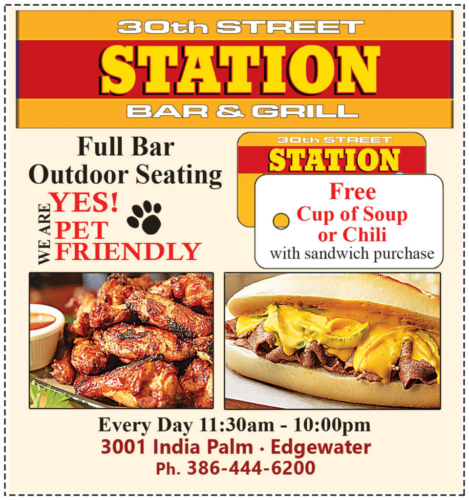 Casual Neighborhood Bar & Grill 30th Street Station Free Cup of Soup or Chili Coupon