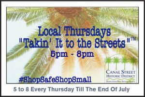 Canal Street - Take it to the Street - New Smyrna Beach -Photo Gallery