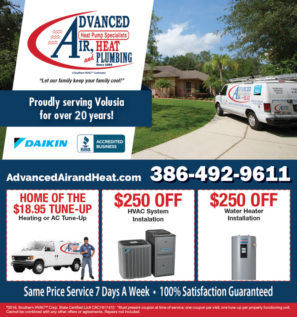 Advanced Air & Heat Home Services coupon for $18.95 Tune-Up or $259 Off