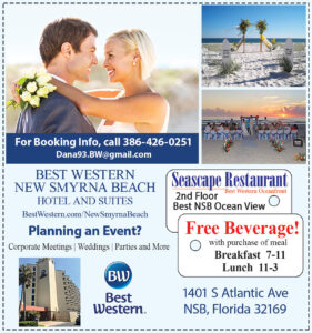 Best Western Seascape restaurant coupon free beverage with breakfast or lunch