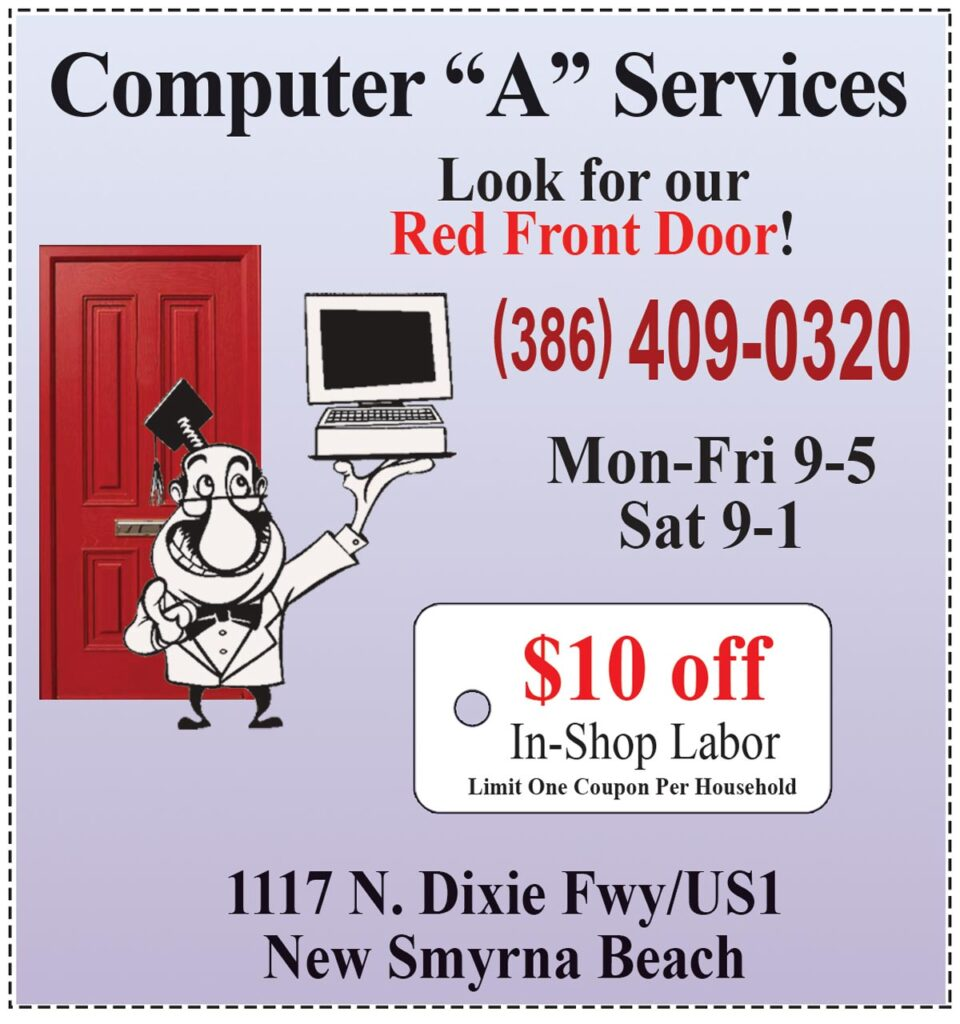 Computer a Services  coupon 10% off in shop labor