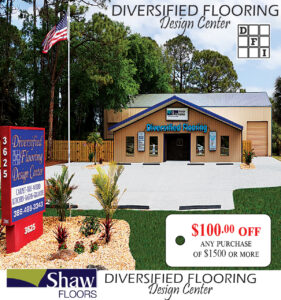 Diversified Flooring Design Center Coupon 100 off