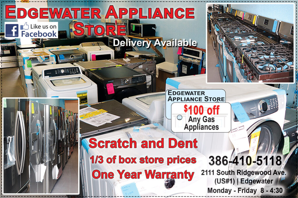 Edgewater Appliance Discount Store Coupon