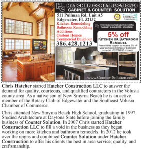 Hatcher Construction Cabinets and Counters Solutions Coupon