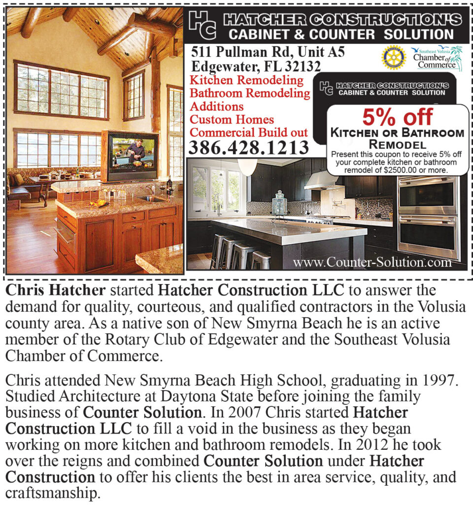 Hatcher Construction Cabinets and Counters Coupon