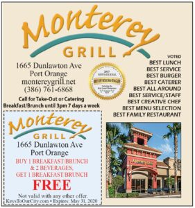 Coupon - Monterey Grill Restaurant, Port Orange