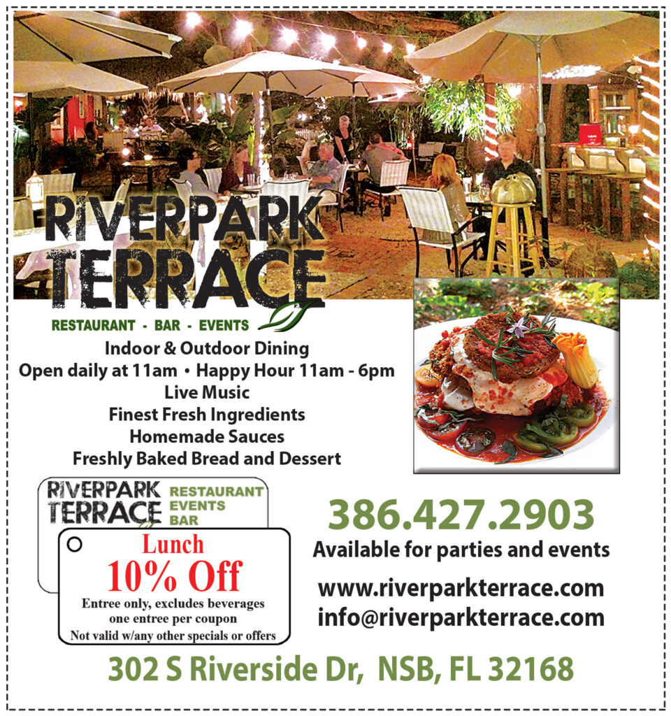 Riverpark Terrace 10% off Lunch locally sourced ingredients
