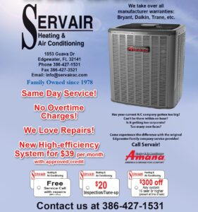 Servair Heating & Air Conditioning Coupon