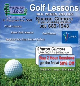 Sharon Gilmore Teaching Professional LPGA Instructor Coupon