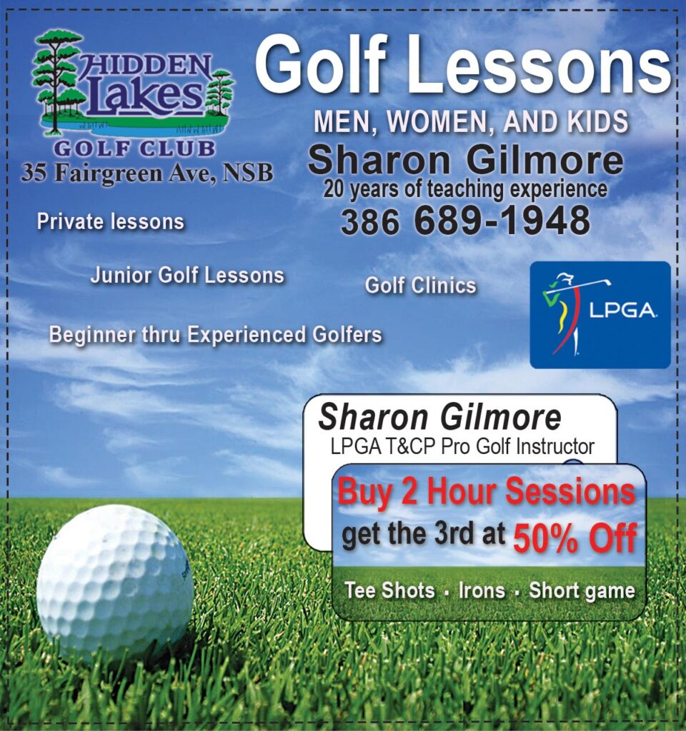 Sharon Gilmore Teaching  Professional LPGA Golf Instructor Coupon