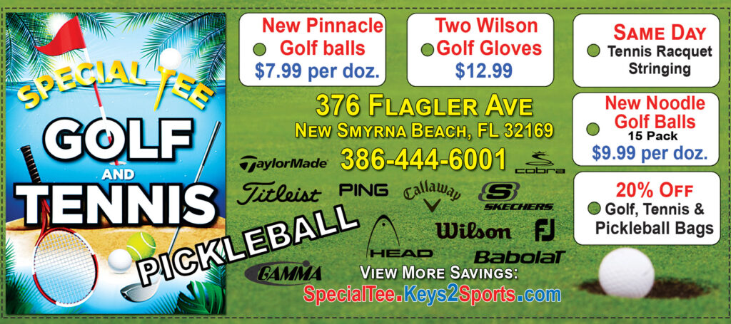 Coupons for Special Tee Golf Tennis & Pickleball