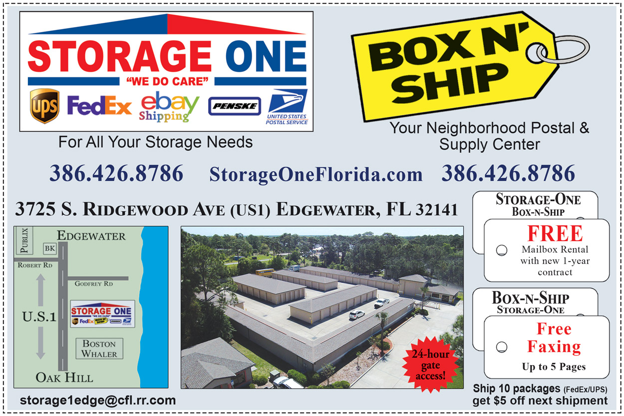 Storage One - Box N Ship of Edgewater Coupon