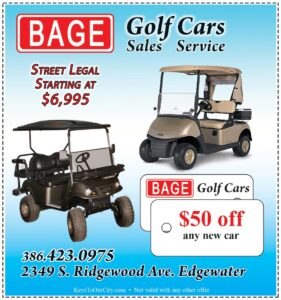 Coupon of Bage Golf Cars and Landmaster