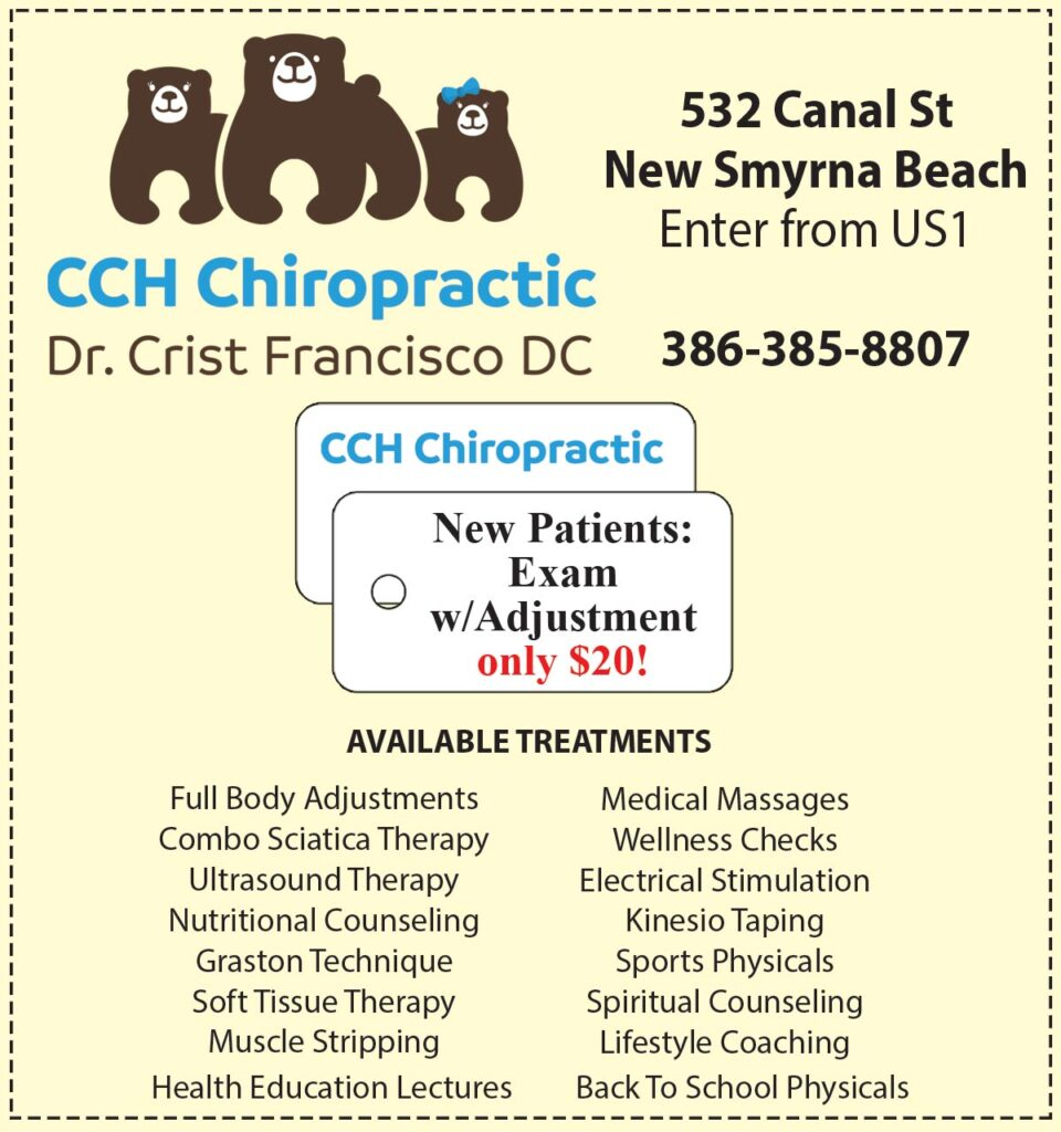 Images CCH Chiropractic of New Smyrna Beach Ad