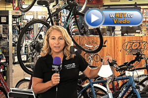 Debbie Pallemaerts of Fox Firestone Bicycle wKEYtv Interview Link