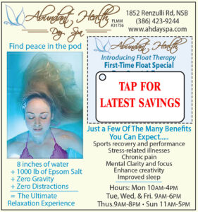 Coupon Abundant-Health-Spa Buy 2 Float get 1 Free
