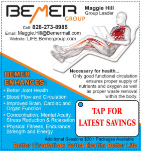 Link to Images of Bemer Group Ad Better Circulation. Better Health. Better Life.
