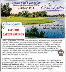 Coupon for Crane Lakes Golf Link