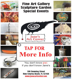 Jane's Eclectic Art Center of New Smyrna Beach